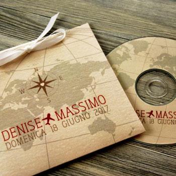 CD musica per matrimonio bomboniera
