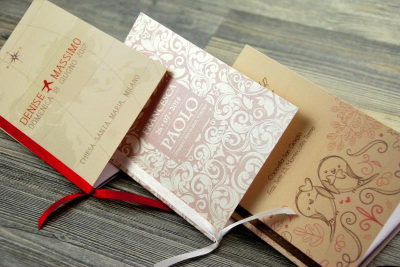 Matrimonio Simbolico Libretto : Libretto mini matrimonio formato a