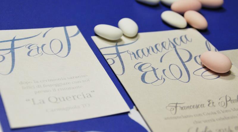 Amato Partecipazione di matrimonio classica e elegante, con nomi degli  UZ15
