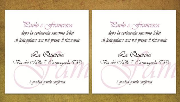 Partecipazioni Di Matrimonio Eleganti Raffinatezza E Classe Anche Il ...