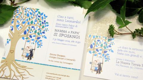 Biglietti Auguri Matrimonio E Battesimo Insieme : Partecipazioni di matrimonio personalizzate su misura sposinstyle.com
