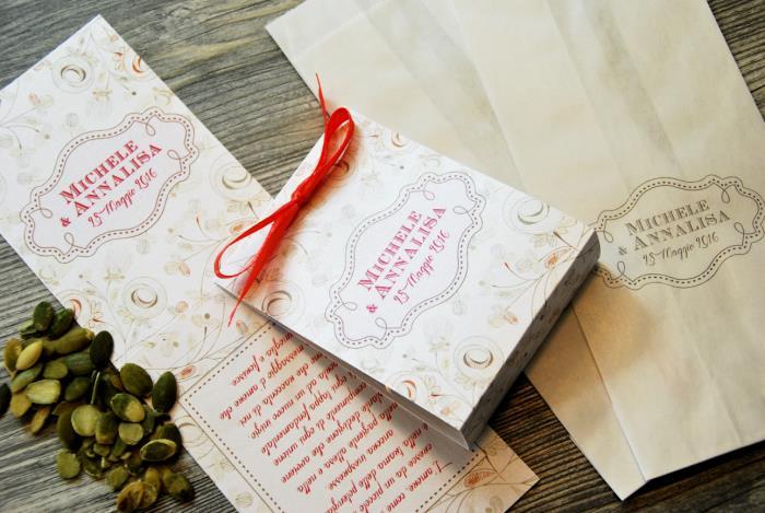 Bomboniera Kit Semi con frase - Fiori Pastello