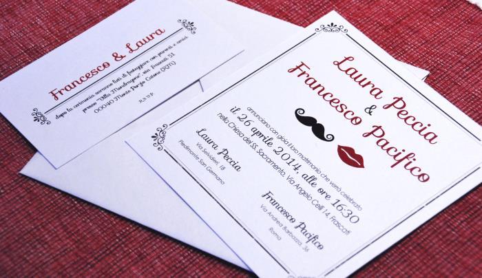 PARTECIPAZIONE ED INVITO: MR&MRS