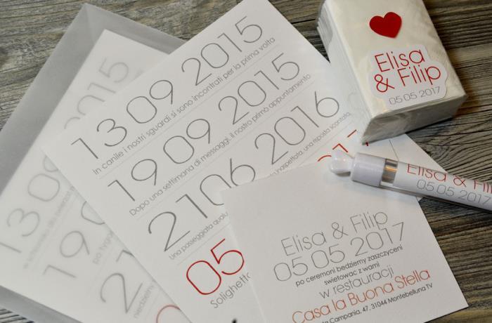 Matrimonio Tema Date Importanti : Partecipazione acquerello con scritta effetto brush