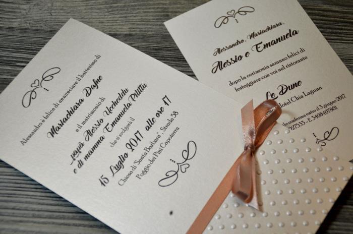 Partecipazioni Matrimonio E Battesimo Insieme.Album Fotografico Collezioni A Catalogo Sposinstyle Com