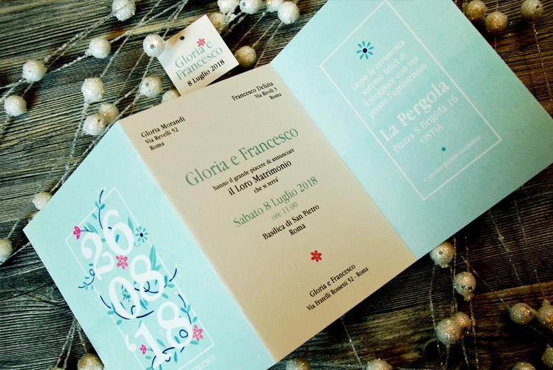 GIARDINO SEGRETO - Collezione floreale in tiffany e toni di rosa