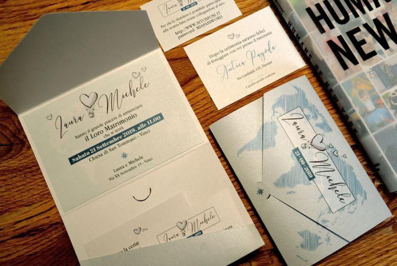 Matrimonio Tema Mongolfiera : Inviti matrimonio bomboniere per gli sposi