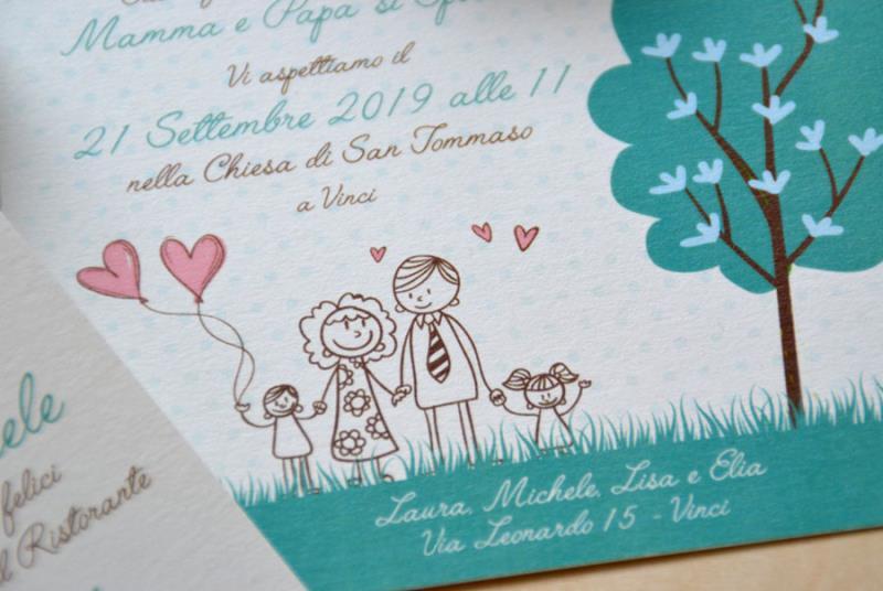 MY FAMILY - I bimbi annunciano il matrimonio di mamma e papà
