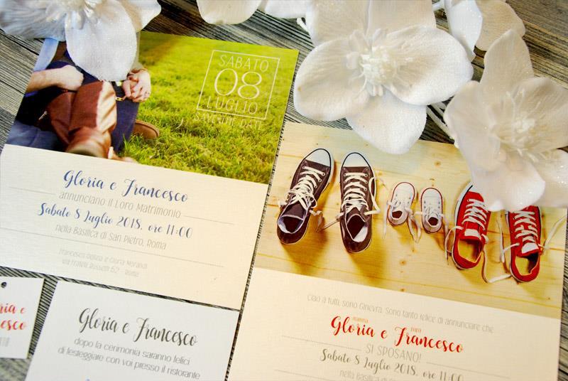SAY CHEEEEEESE!. Partecipazione Fotografica, personalizzata con foto degli sposi