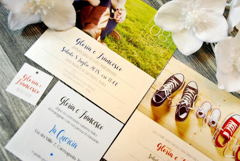 SAY CHEEEEEESE! - Partecipazione Fotografica, personalizzata con foto degli sposi