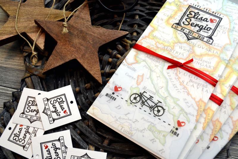 ROAD TRIP - TANDEM - Partecipazione viaggio in bici, logo tandem