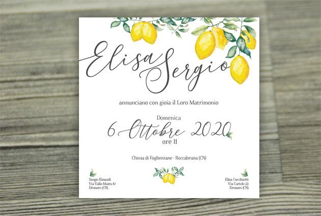 Partecipazione di Matrimonio   SICILIA