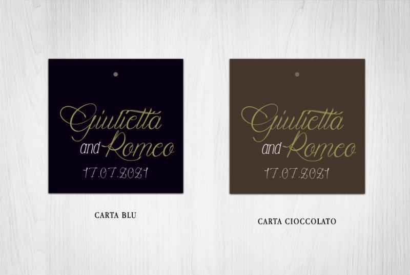 Biglietto Bomboniera   ROYAL WEDDING