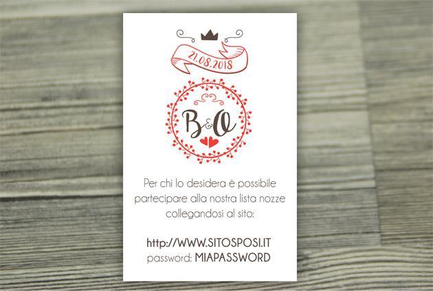 Biglietto Lista Nozze   WEDDING PASSPORT